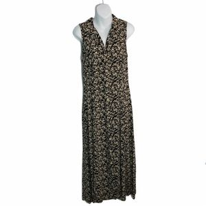 All That Jazz Floral Button Up Maxi Dress Sz 11/12